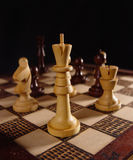 Chess game (1) Stock Images