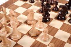 A chess game Stock Photo