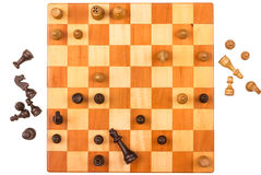 A Chess game Royalty Free Stock Photo