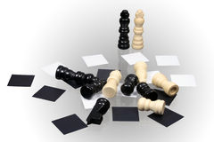 Chess game Stock Photography