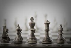 Chess game abstract royalty free stock photo