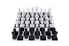 Chess game board Royalty Free Stock Photo