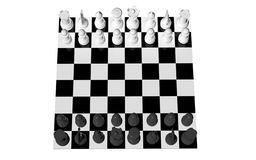 Chess game board Royalty Free Stock Images