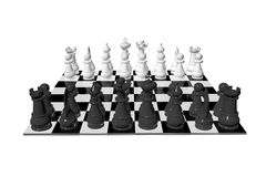 Chess game board. Sports strategy Stock Photo
