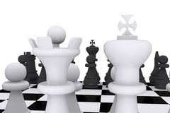 Chess game board Stock Images