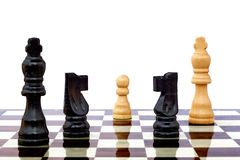 Chess game board Royalty Free Stock Photography