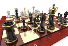 Chess game board Stock Photography