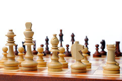 Chess game board scene Stock Photos