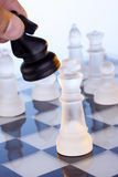 Chess game -Checkmate Stock Photos