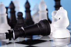 Chess game-Checkmate Stock Photography