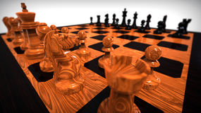 Chess game concept Stock Photography