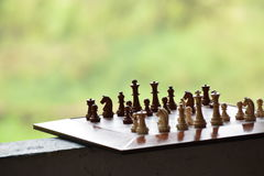 Chess. The game of chess denotes power, right moves and cleverness. It is an exciting war we can wage with our friends or dear ones right inside the comfort of Stock Photos