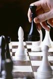 A chess game Stock Photos