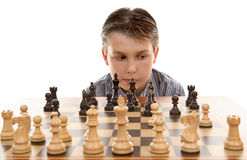 Chess game  evaluation Royalty Free Stock Photos