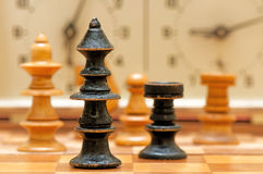 Chess game figures Stock Images