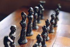 Chess, Game, Fun, Play, Strategy Royalty Free Stock Images
