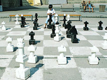 Chess, a game hard Royalty Free Stock Photography