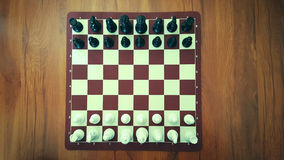 Chess. Game in the Home Royalty Free Stock Photos