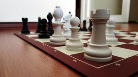 Chess. Game in the Home Stock Images
