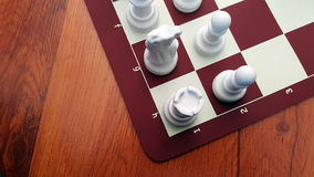 Chess. Game in the Home Stock Photography