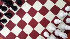 Chess. Game İn the Home Royalty Free Stock Photos