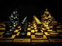 Chess game II stock photo