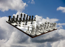 Chess Game - isolated Royalty Free Stock Photos