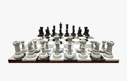 Chess Game - isolated Stock Photo