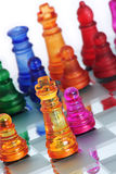 CHESS GAME-KING Stock Photography