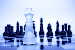 Chess game-King Royalty Free Stock Image