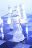 Chess game-King Royalty Free Stock Photos