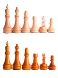Chess game king strategy board Royalty Free Stock Photos
