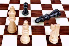 Chess; game over Royalty Free Stock Images