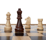 Chess game pieces Royalty Free Stock Photography