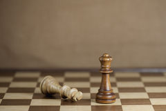 Chess Game Royalty Free Stock Photography