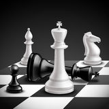 Chess Game Realistic Stock Photography