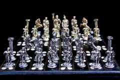 Chess game set Stock Images