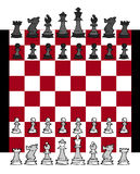 Chess game Set Royalty Free Stock Photo