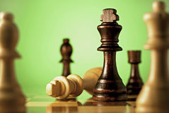 Chess, a game of skill and planning Stock Images