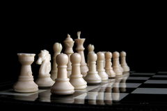Chess Game, Strategy and Decision Making Stock Image
