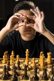 Chess game Royalty Free Stock Photos