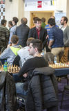 Chess games room Royalty Free Stock Photography