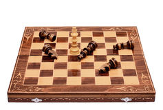 Chess give up Stock Image