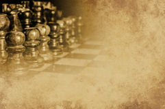 Chess grunge texture Stock Photo