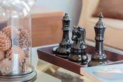 Chess. Has a beautiful luster Stock Photo