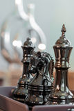 Chess. Has a beautiful luster Stock Images
