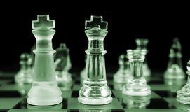 Chess - Heads Up Royalty Free Stock Photos