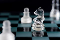 Chess Horse Stock Image