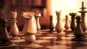 Chess horse Stock Photography