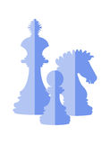 Chess icon Royalty Free Stock Images